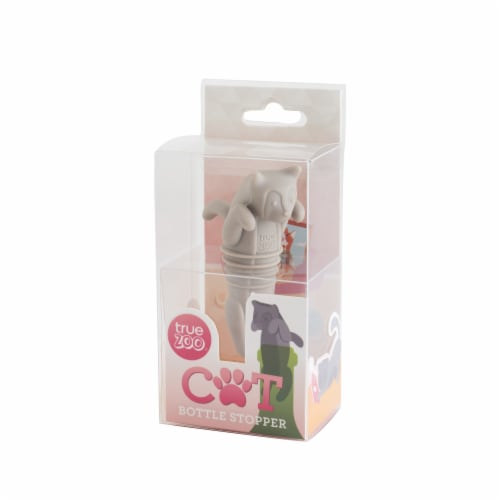 Cat Bottle Stopper by TrueZoo Perspective: bottom