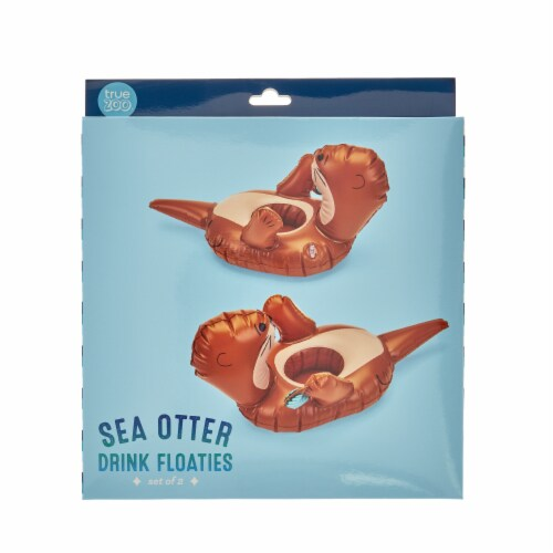 Otter Drink Floaties, set of 2 by TrueZoo Perspective: bottom