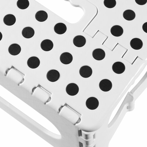 """9"""" Folding Step Stool with Handle by Casafield Perspective: bottom"""