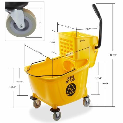 Dryser Commercial Mop Bucket Perspective: bottom