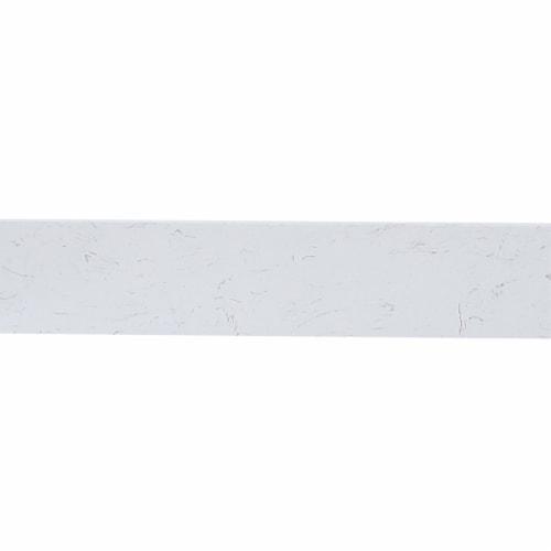 48 inch Backsplash in calacatta white Perspective: bottom