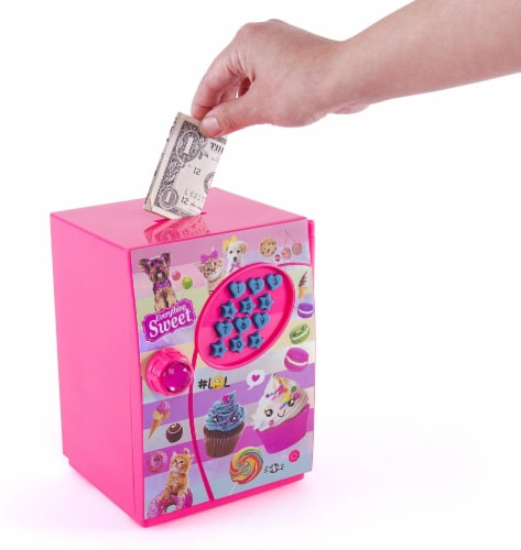 Hot Focus Piggy Bank - Sweet Crush Digital Money Safe Toy Bank with Electronic Password Lock Perspective: bottom
