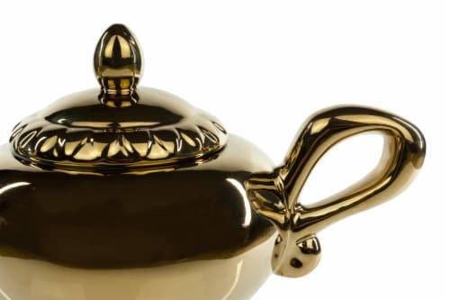 Disney Aladdin Genie Lamp 32oz Ceramic Teapot Perspective: bottom