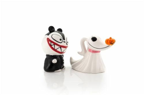 Nightmare Before Christmas Scary Teddy & Zero Ceramic Salt & Pepper Shakers Perspective: bottom