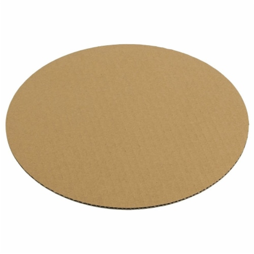 12-Pack Round Cake Boards, Cardboard Cake Circle Bases, 10 Inches Diameter, White Perspective: bottom
