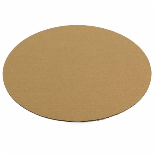 12-Pack Round Cake Boards, Cardboard Cake Circle Bases, 12 Inches Diameter, White Perspective: bottom