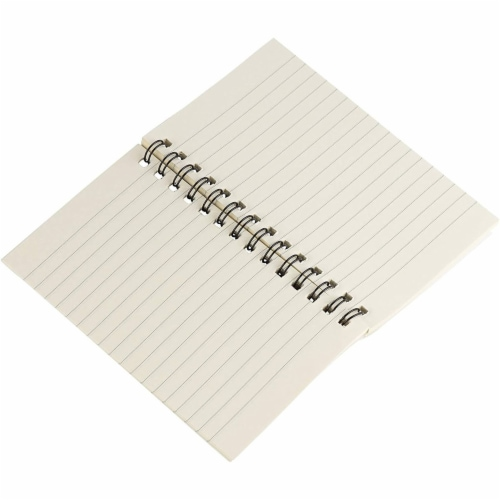 Pocket Size Spiral Lined Journal with Lined Pages, 50 Sheets Each (3x5 In, 12 Pack) Perspective: bottom