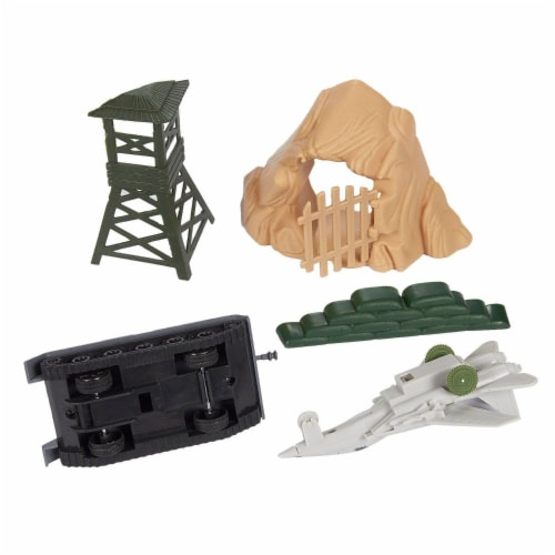 300 Pieces Military Army Men Toys Set For Boys - Including 8pc SWAT Team Action Figures Perspective: bottom