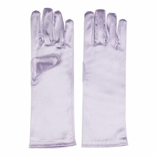 Juvale Princess Gloves for Little Girls Dress Up (4 Pairs) Perspective: bottom