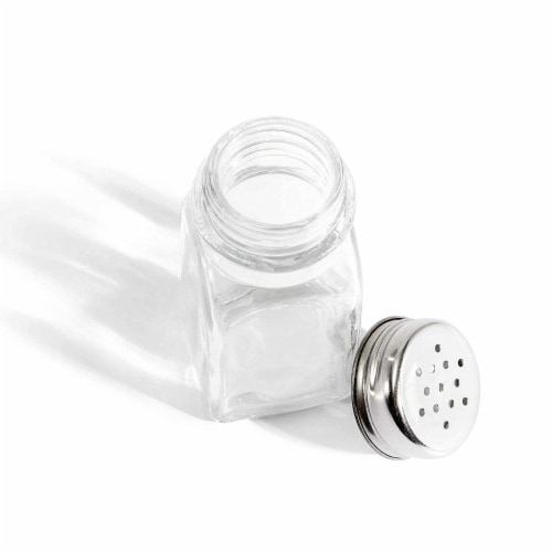 Juvale Glass Salt and Pepper Shakers (24 Pack) Perspective: bottom