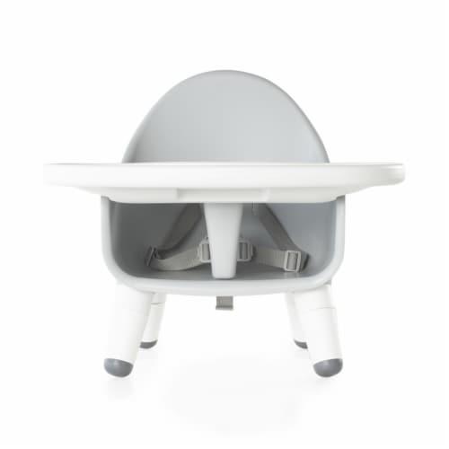 Guidecraft Gray Feeding Chair Perspective: bottom