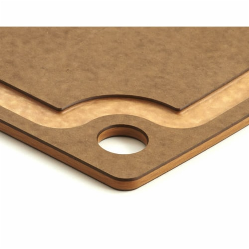 Epicurean Gourmet Series Cutting Board, Nutmeg & Natural - 14.5 x 11.25 x 0.37 i Perspective: bottom