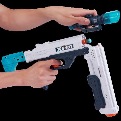 Zuru X-Shot Excel Ultimate Shootout Nerf Playset Perspective: bottom