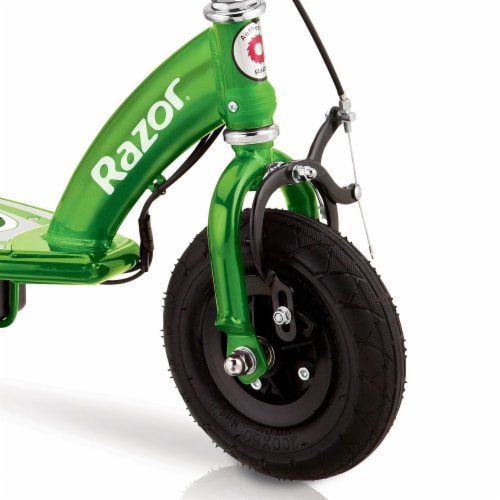 Razor E100 Kids Ride On 24V Motorized Powered Electric Scooter Toy, Green Perspective: bottom