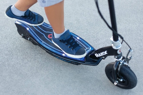 Razor® E100 Glow Electric Scooter Perspective: bottom