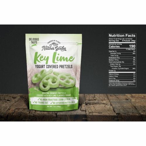 Nature's Garden Key Lime Yogurt Covered Pretzels Perspective: bottom