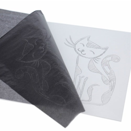 9  X 13  Graphite Transfer Paper - 25 Sheets Perspective: bottom