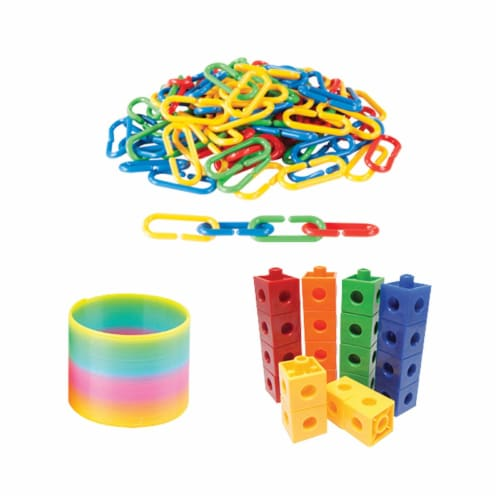 Hand2Mind Children's Sensory Fidget Toy with Multiple Calming Tubes Perspective: bottom