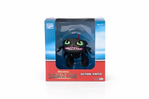 """How To Train Your Dragon 6""""-7"""" Action Vinyl: Toothless Perspective: bottom"""