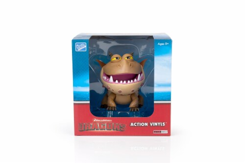 "How To Train Your Dragon 6""-7"" Action Vinyl: Meatlug Perspective: bottom"