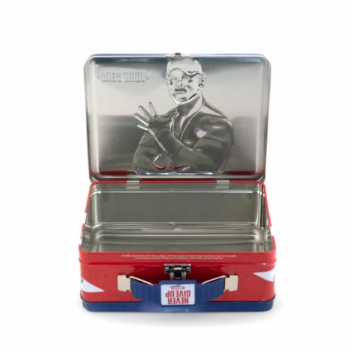 WWE Tin Lunch Box Featuring Superstar Wrestler John Cena Perspective: bottom