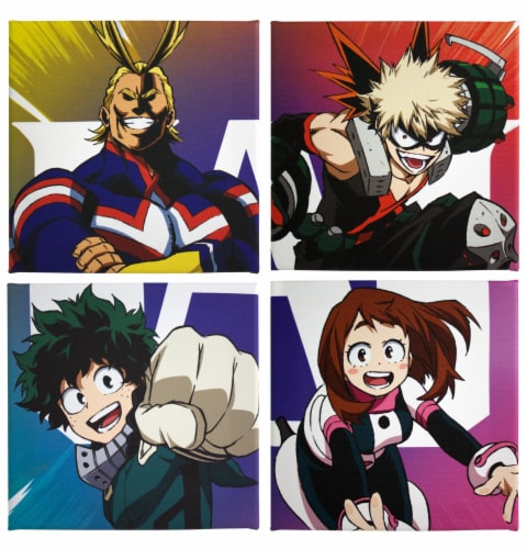 My Hero Academia LookSee Mystery Gift Box | Includes 5 Themed Collectibles | All Might Box Perspective: bottom