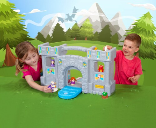 Simplay3 Carry & Go Castle Playset Perspective: bottom