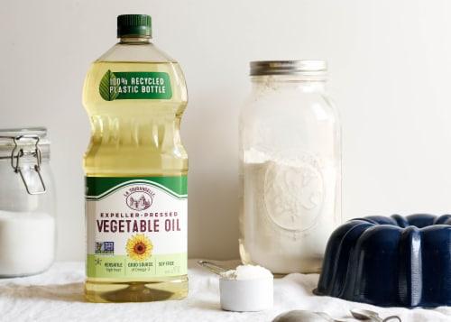 La Tourangelle Vegetable Oil Perspective: bottom