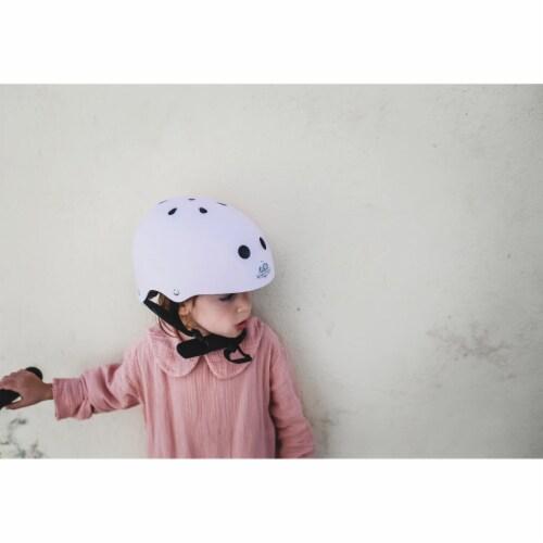 Kinderfeets Adjustable Toddler & Kids Sport Bike Helmet, CPSC Certified, Rose Perspective: bottom