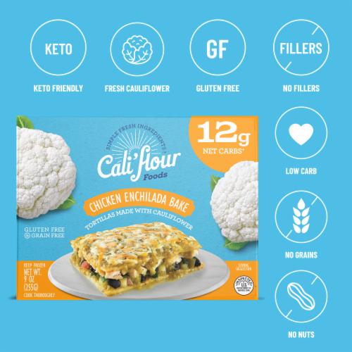 Cali'flour Foods Chicken Enchilada Bake Perspective: bottom