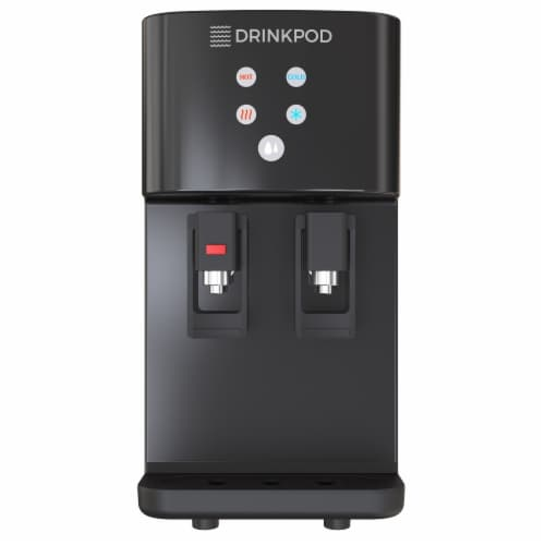 Drinkpod 2000 Series Bottleless Hot and Cold Water Cooler Dispenser with 4 Stage Purification Perspective: bottom