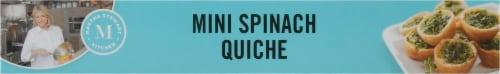Martha Stewart Spinach Quiche Bites Perspective: bottom