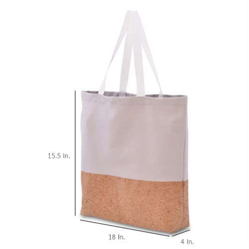 Cotton Tote Bag, Designer Grocery Bag, Trendy Reusable Shopping Bags, Eco Friendly Perspective: bottom