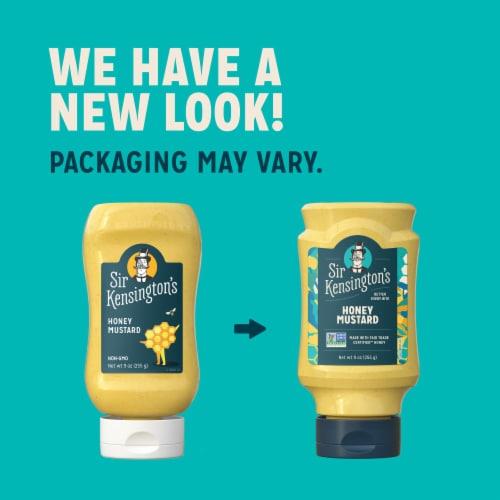 Sir Kensington's Paleo Honey Mustard Gluten-Free Condiment Perspective: bottom