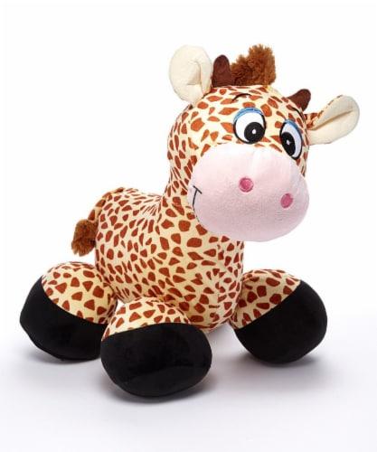 "iPlush 26"" Inflatable Giraffe Stuffed Animal Perspective: bottom"