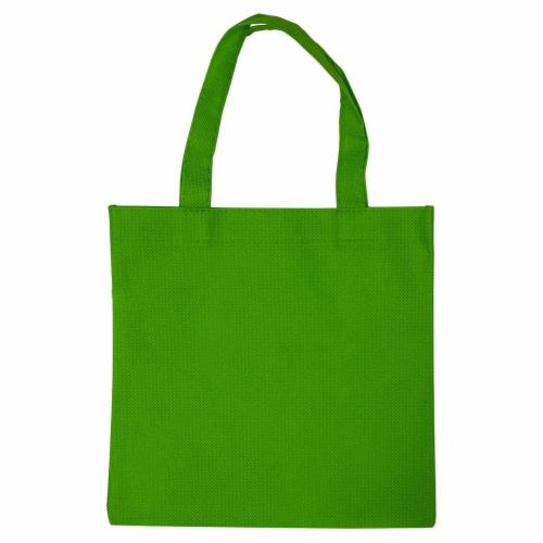 6x6 Inch Flat Reusable Gift Bags with Handles, Eco Friendly Totes, Fabric Goodie Bags Perspective: bottom