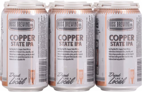 Huss Brewing Co. Copper State IPA Perspective: bottom
