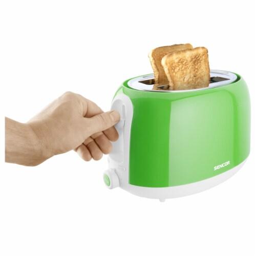 Sencor 2-Slot Toaster - Green Perspective: bottom