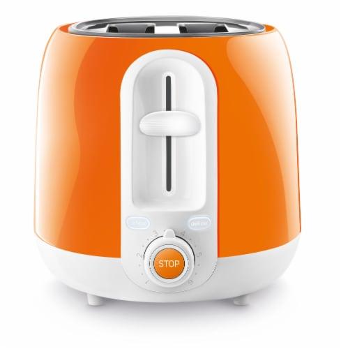 Sencor 2-Slot Toaster - Orange Perspective: bottom