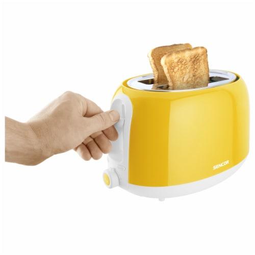 Sencor 2-Slot Toaster - Yellow Perspective: bottom