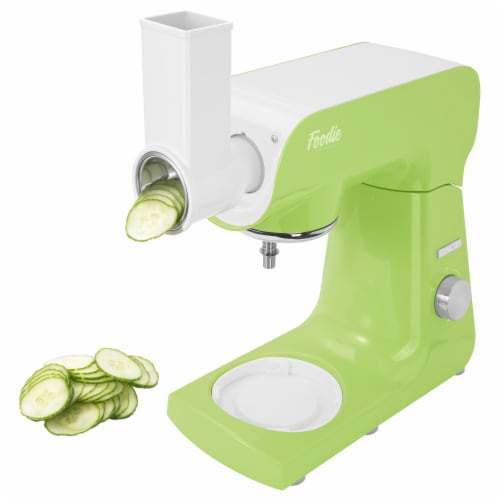 Sencor Stand Mixer with Accessories - Lime Green Perspective: bottom