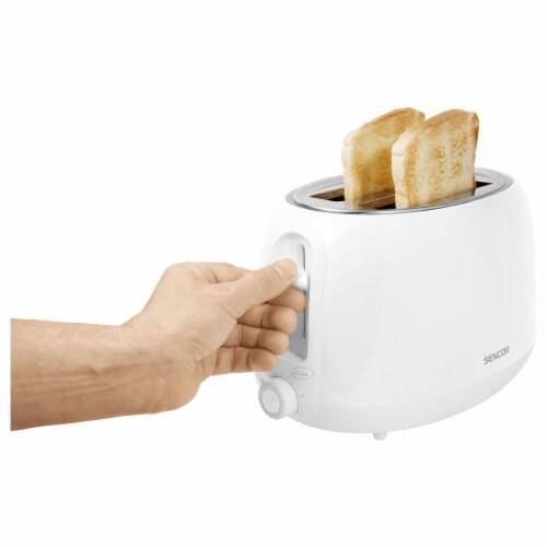 Sencor 2-Slot Toaster - Snowdrop White Perspective: bottom