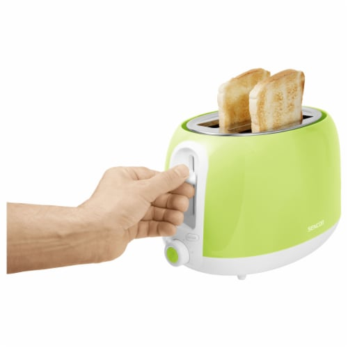 Sencor 2-Slot Toaster - Lime Green Perspective: bottom