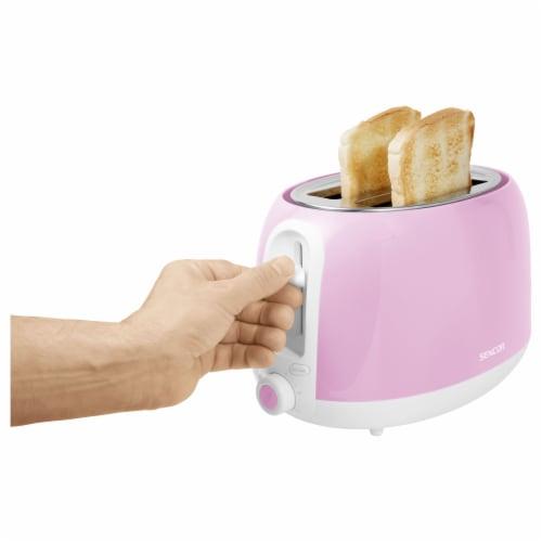 Sencor 2-Slot Toaster - Cherry Blossom Pink Perspective: bottom