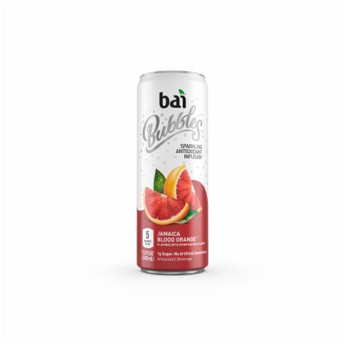 Bai Bubbles Jamaica Blood Orange Sparkling Beverage Perspective: bottom