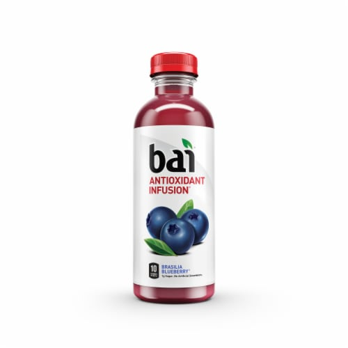 Bai Brasilia Blueberry Antioxidant Infused Beverages Perspective: bottom