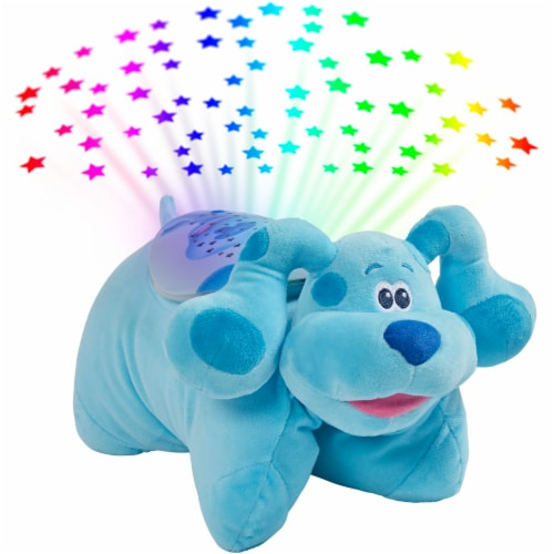Pillow Pets Nickelodeon Blue's Clues Blue Sleeptime Lite Plush Toy Perspective: bottom