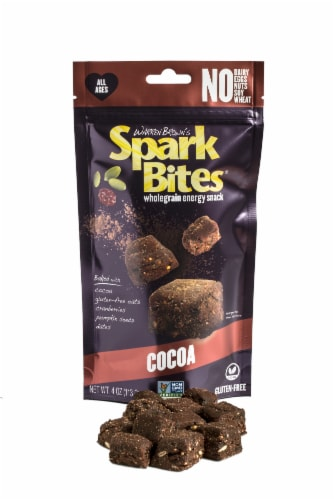 Cocoa Spark Bites, Case of 6 Perspective: bottom