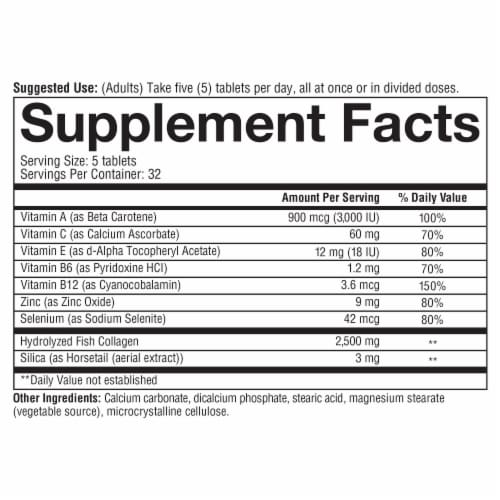 Youtheory Marine Collagen Advanced Formula Perspective: bottom