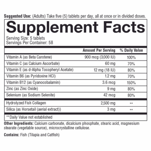 Youtheory® Marine Collagen Tablets Perspective: bottom